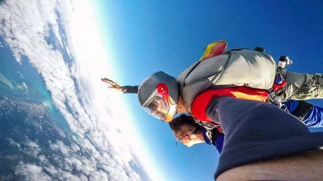 First Time Skydiving | Stripes Guam