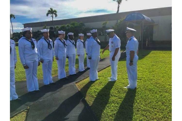 U.S. Navy photo provided by Administrative Officer Andrea Johns