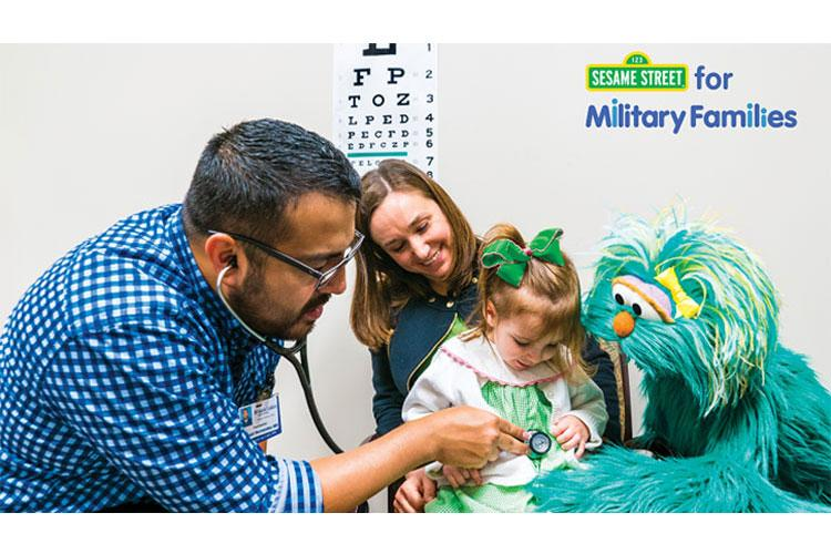 Visit the new Transitions in Health Care section on the Sesame Street for Military Families website.