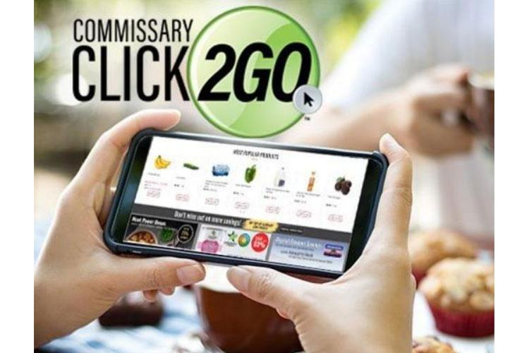 Courtesy Photo | The worldwide rollout of Commissary CLICK2GO passes a major milestone Sept. 20 as the internet grocery shopping service goes live at commissaries in Europe, with commissaries in Japan, South Korea and Okinawa set to join them before the month is up.