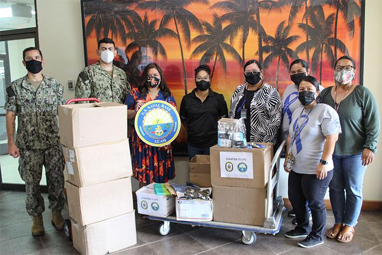 Photos courtesy of U.S. Naval Base Guam Public Affairs Office