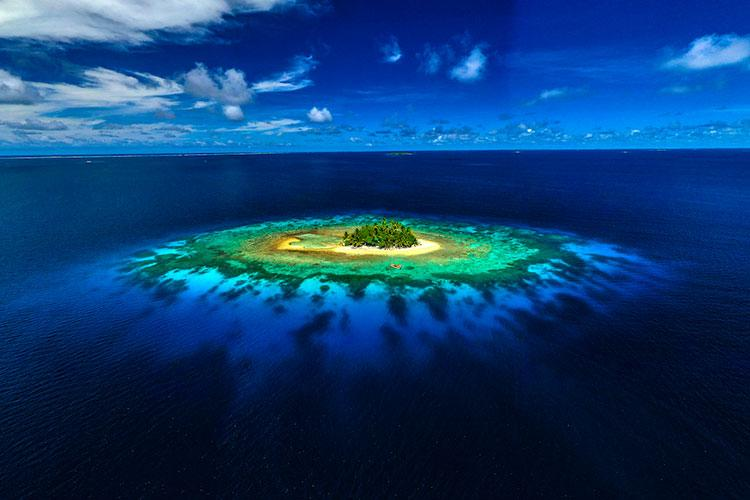 Famous Jeep Island, photo courtesy of Guam Visitors Bureau