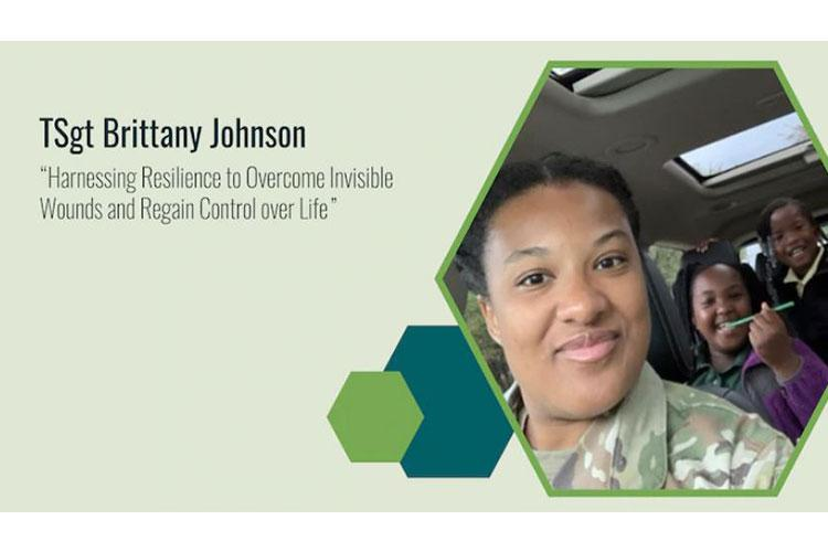 Reality hit when then Airman First Class Brittany Johnson of the 49th Logistics Readiness Squadron left the hospital in September 2010 after a week-long stay for sexual and physical assault. As Johnson started to learn how to manage her invisible wounds, her weekly therapy sessions became biweekly, monthly, and finally, as needed. (Air Force Wounded Warrior Program courtesy graphic)