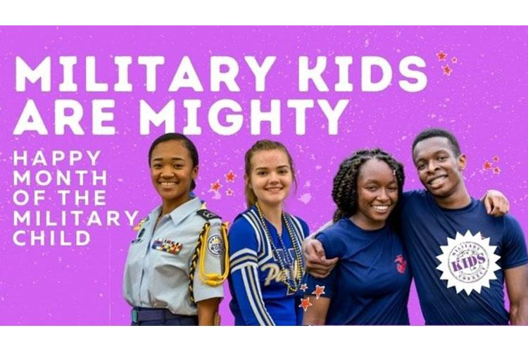 The Defense Health Agency celebrates the mighty military child in April.