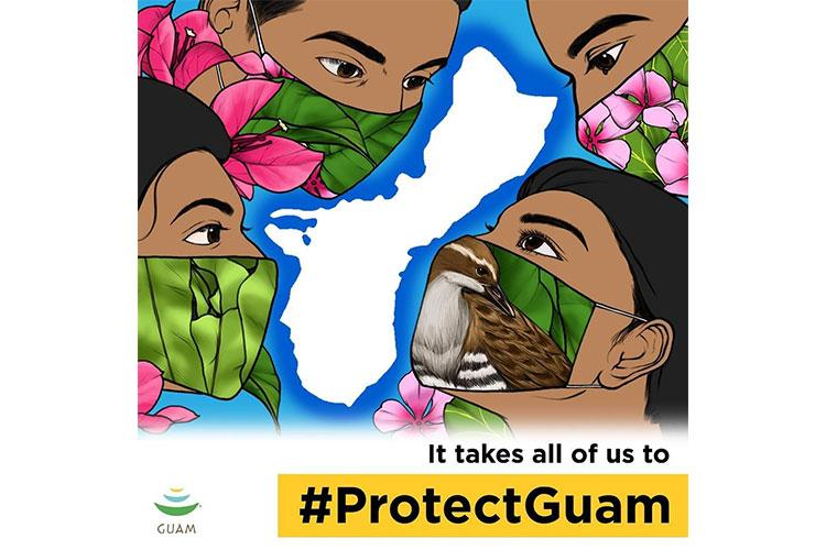 visitguamusa is spreading the #ProtectGuam message and giving away cash too! The Guam Visitors Bureau understands the frustration, stress, and anxiety this pandemic has brought onto the people of Guam and our island's economy. We remain steadfast in our belief that we can get through this together, by wearing our face masks, downloading the COVID Alert APP, and following the health and safety protocols currently in place. Photo courtesy of @hitradio100guam on Instagram