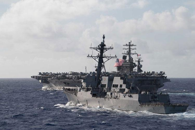 U.S. Navy photo by Mass Communication Specialist 2nd Class Logan C. Kellums/Released