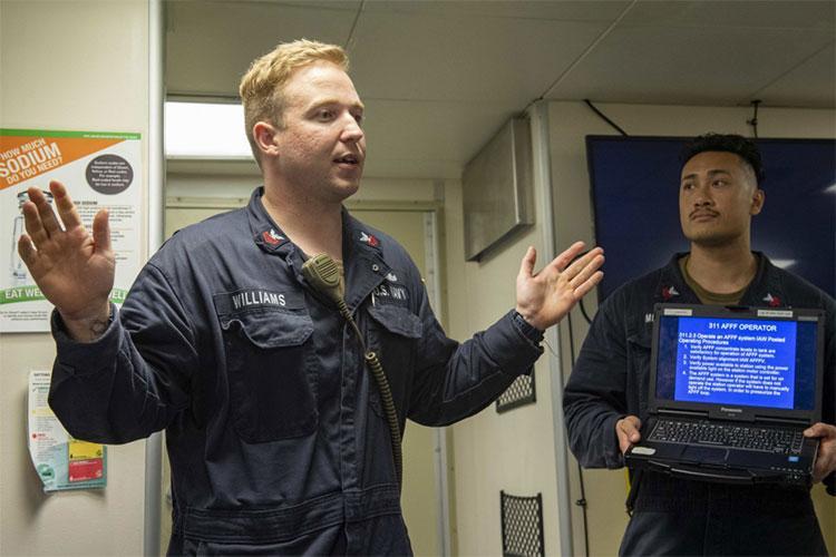 U.S. Navy photo by Mass Communication Specialist 2nd Class Adam Butler