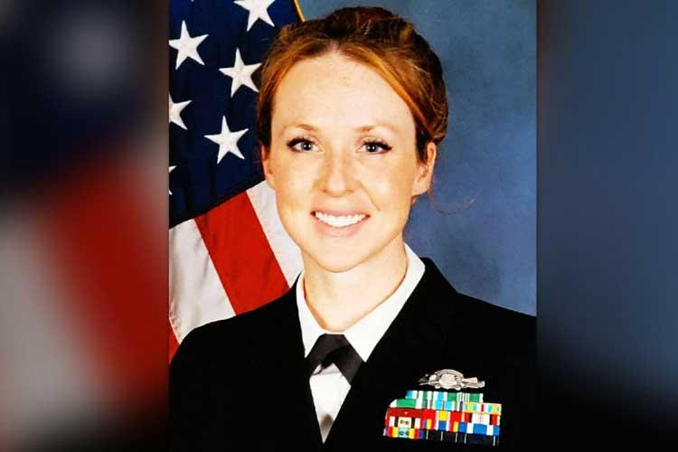 Chief Petty Officer Shannon Kent was on her fifth deployment when she was killed in a Islamic State-claimed bombing in Syria. (U.S. NAVY)