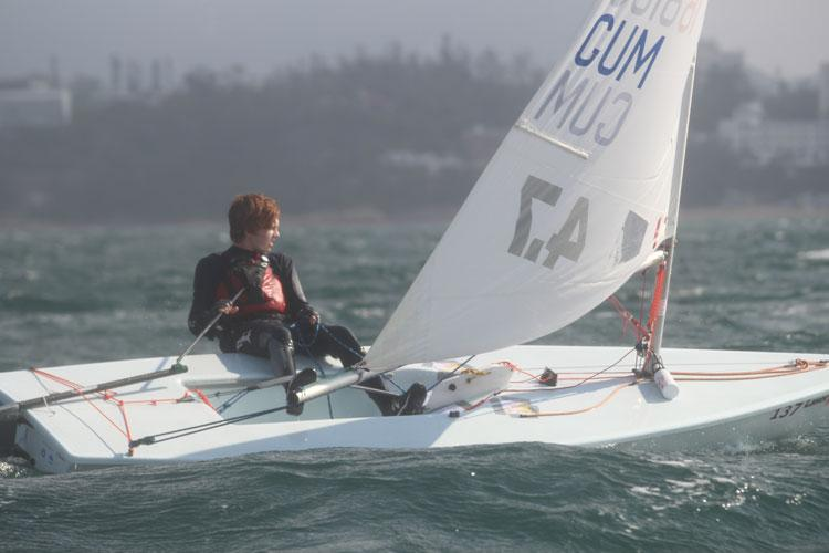 Eric Thomson competing at Hong Kong Race Week in February.