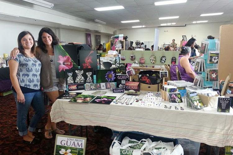 Jessie Snyder opened her business after her friends and family showed interest in buying items based on her photography of Guam.