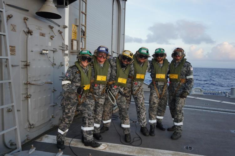 U.S. Navy photo by Naval Aircrewmen 2nd Class James Clemens