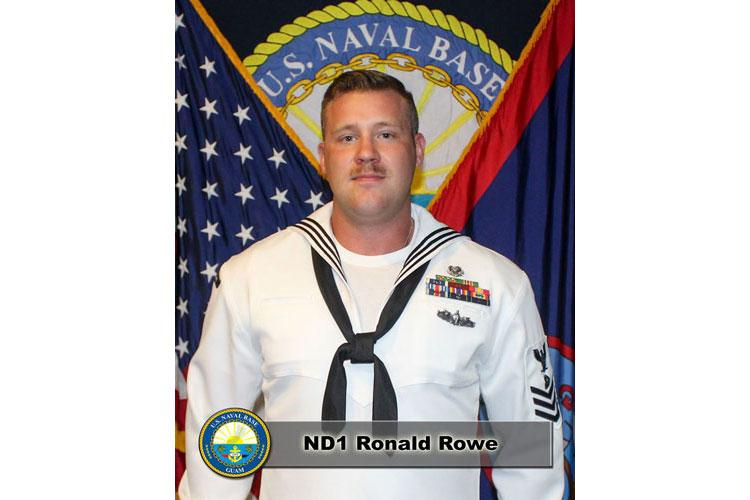 Navy Diver Petty Officer 1st Class (ND1) Ronald Rowe