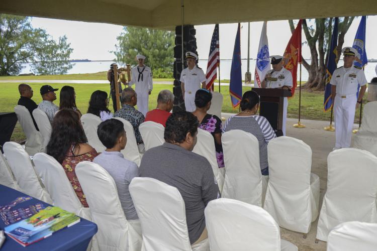 Photo courtesy of U.S. Naval Base Guam Public Affairs Office