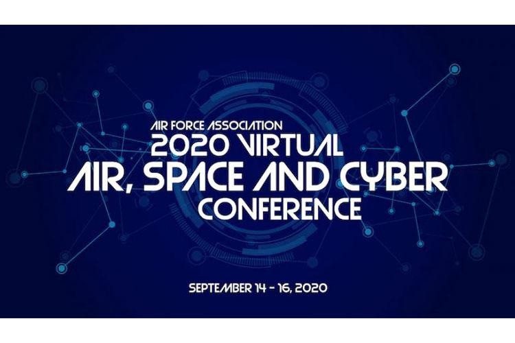 """The Air Force Association 2020 Air, Space and Cyber Conference graphic. (U.S. Air Force graphic by Rosario """"Charo"""" Gutierrez)"""