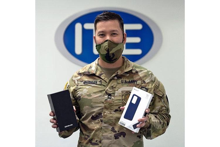 Jonathan Guzman of Guam is the winner of the Samsung Galaxy S20 Ultra in the IT&E Stay Home Challenge. Guzman's entry was selected as IT&E's Choice.  He also received a Nimbus phone case and one year of free service.