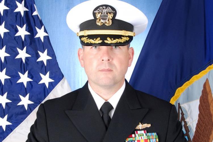 Cmdr. Bryce Benson. U.S. NAVY
