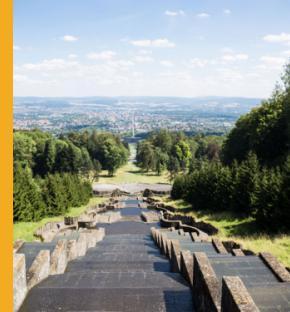 Overlooking Kassel, Germany. Photo by Alexandra Bendea/123rf
