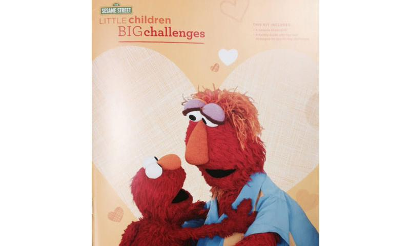Sesame Street Book Teaches Kids Resilience