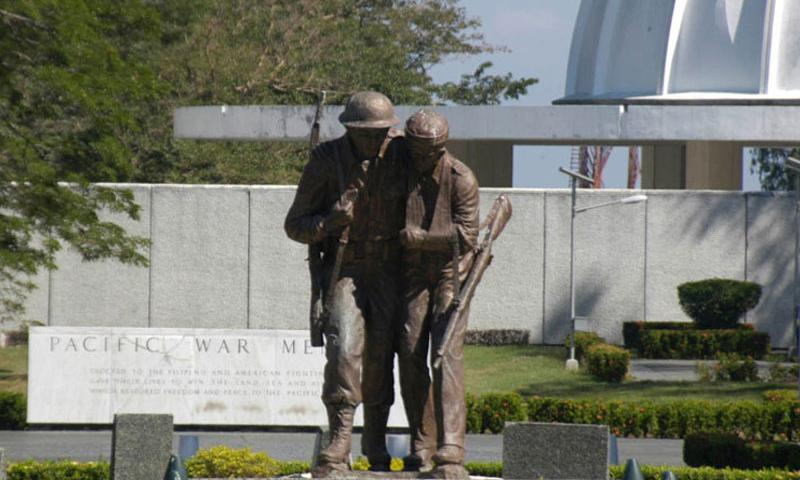 The Pacific War Memorial was built in 1968 on Corregidor Island in the Philippines. (Seth Robson/Stars and Stripes)