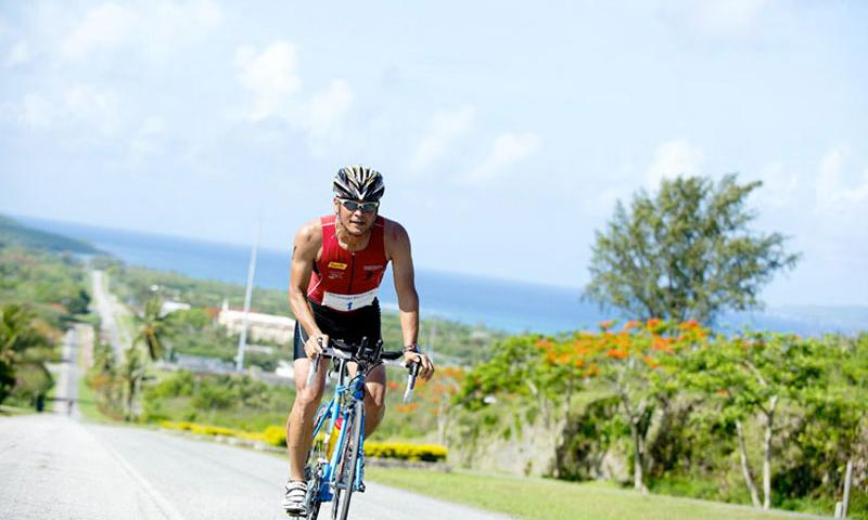 The 14th Annual Tinian Turquoise Blue Triathlon & Reef Swim will be held on February 15, 2014, in the Northern Mariana Islands. (Photo credit: Hideo Miyazawa)