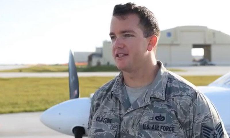 Staff Sgt. Michael Clayton