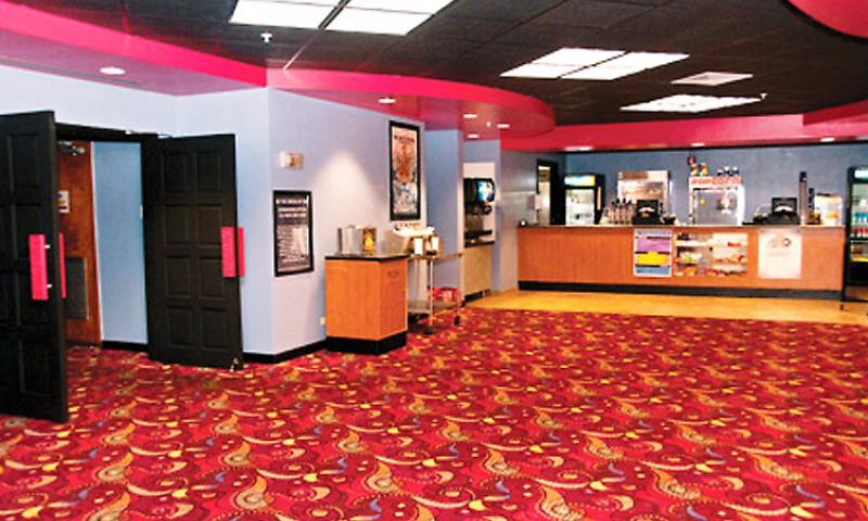 The renovated lobby at The Big Screen theater on U.S. Naval Base Guam offers a concession stand for facility patrons Jan. 11. The theater fulfills a number of needs of the base and its patrons. U.S. Navy photo by Shaina Marie Santos/Released