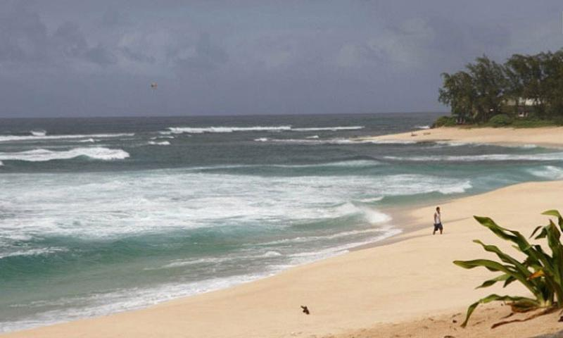 The North Shore is a beachcomber's dream with its miles of sand. (Wyatt Olson/Stars and Stripes)