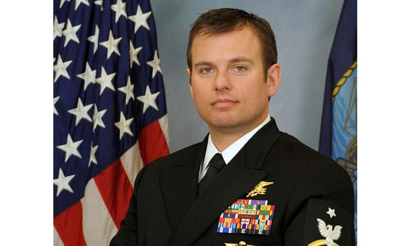 Navy SEAL Senior Chief Petty Officer Edward C. Byers Jr., will be awarded the Medal of Honor by President Barack Obama during a White House ceremony on Monday Feb. 29, 2016. (U.S. Navy)