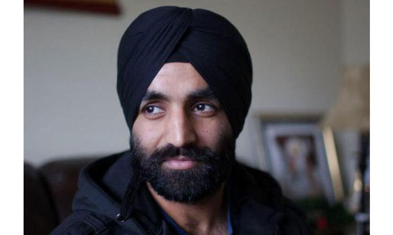 Army Capt. Simratpal Singh was granted a rare religious accommodation that will allow him to wear a beard and turban, requirements of his Sikh faith. (Facebook)