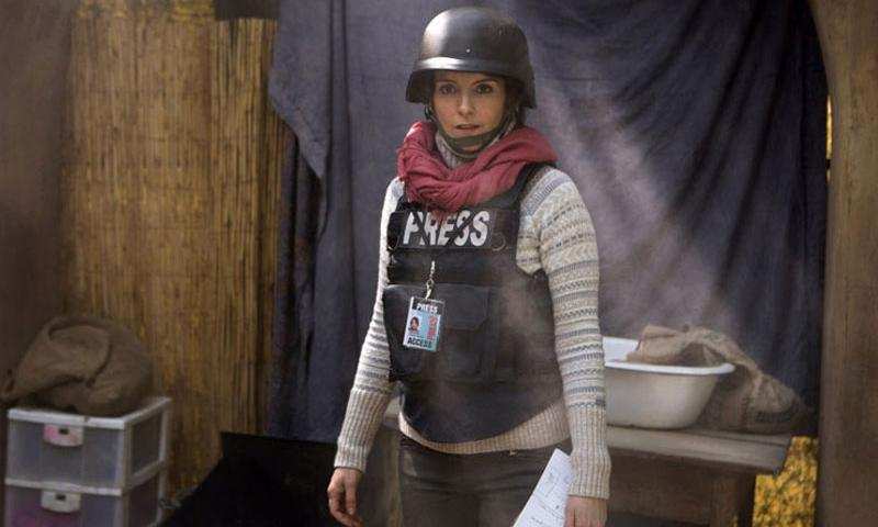 "Tina Fey portrays Kim Baker in a scene from ""Whiskey Tango Foxtrot."" (Paramount Pictures)"