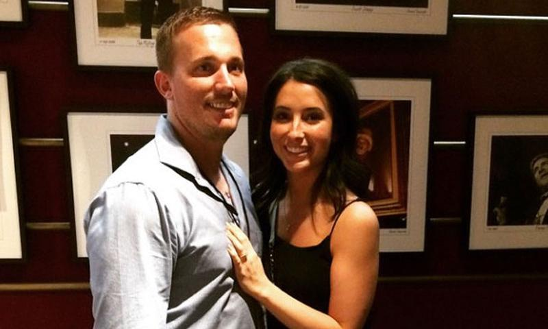 "Medal of Honor recipient Dakota Meyer announced his engagement to Bristol Palin on Instagram on March 14, 2014. ""I'm definitely the luckiest guy ever to be able to spend the rest of my life with @bsmp2 #shesaidyes,"" he wrote. (Instagram)"