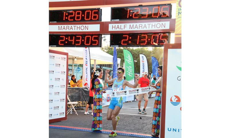 More than 2,200 runners participated in the event. (Photo by The Guam International Marathon)