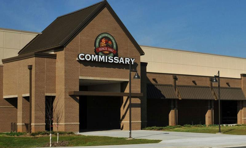 The commissary at Fort Campbell Ky., as seen in 2012 before its grand opening. (DOD)