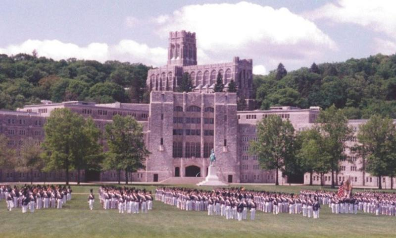 Photo: This is the graduation parade for the United States Military Class of 1996. Photo Credit goes to Anthony Jay Mandarino