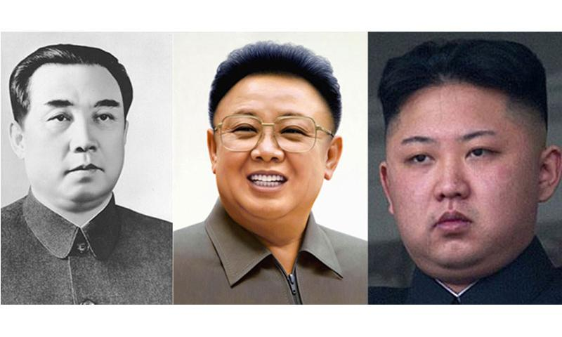 North Korea has been under the rule of the Kim family since 1948, when Kim Il Sung, left, became the country's first leader. He was succeeded by his son, Kim Jong Il, center, in 1994. Kim Jong Un became the third member of the family to rule the reclusive nation, taking over after his father's death in 2011.