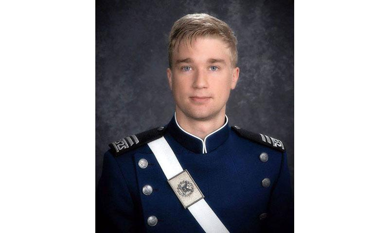 Air Force Academy Cadet Kaleb Estes has been identified as the victim of a fatal parachuting accident. (AIR FORCE ACADEMY)
