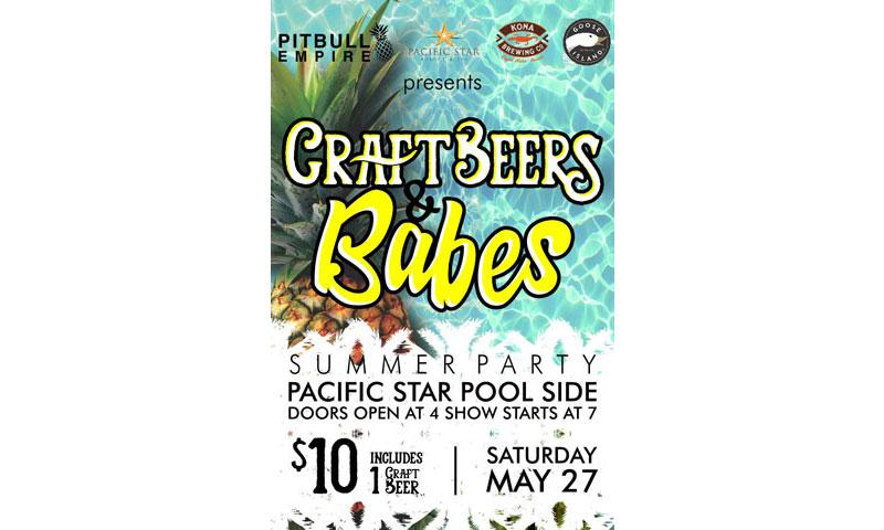 craft beer and babes to be held on may 27 stripes guam. Black Bedroom Furniture Sets. Home Design Ideas