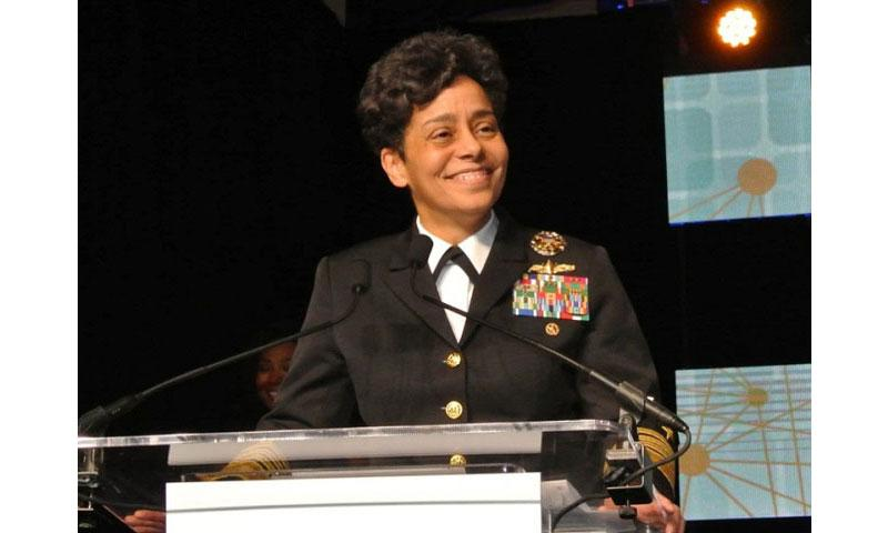 Adm. Michelle Howard was nominated by President Barack Obama to lead U.S. Naval Forces Europe-Africa, the Naples-based command that oversees the warships, aircraft and sailors operating across the Atlantic and Mediterranean, the Defense Department announced Thursday, May 19, 2016. (Scott McIlnay/U.S. Navy)