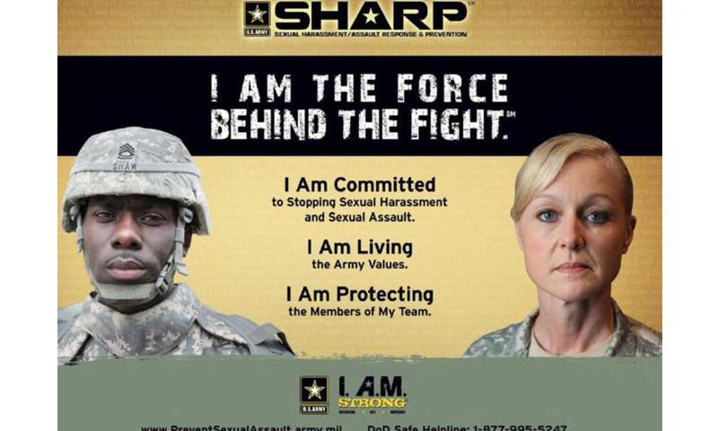 Part of the U.S. Army's campaign against sexual assault. (U.S. Army)