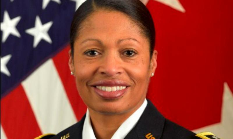 Maj. Gen. Marcia Anderson is the Army's first black, female 2-star general. She hopes to help the Army increase recruitment of women. (U.S. Army)