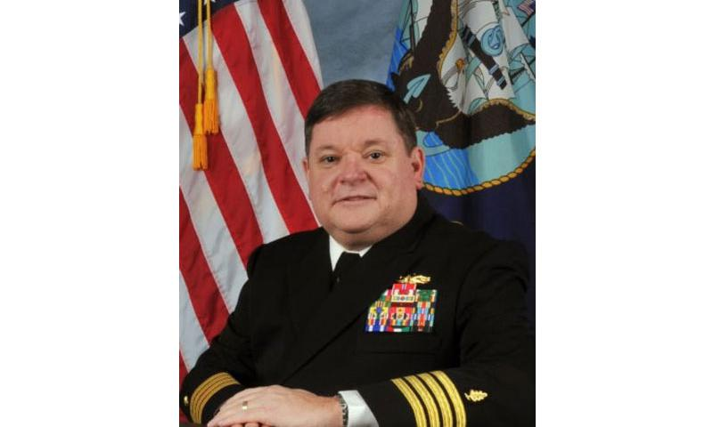 Capt. Michial S. Warrington was removed from his post as hospital commander at Naval Station Rota on March 9, 2015. (U.S. Navy)