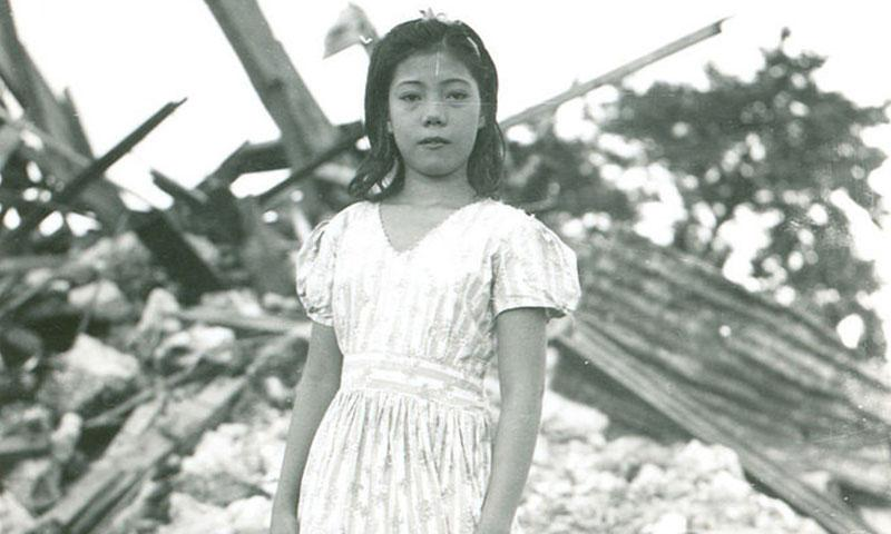 Young Beatrice Perez Emsley. (Photo courtesy of Guampedia Foundation)