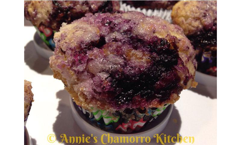 Berry-licious Blueberry Muffins