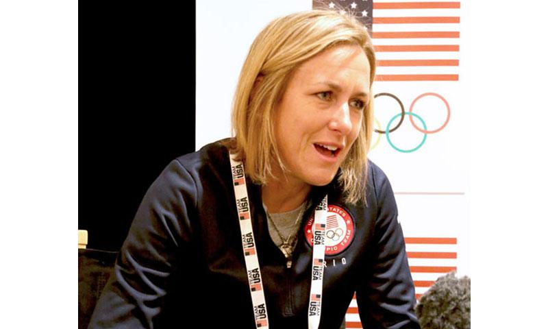 American Cyclist Kristin Armstrong
