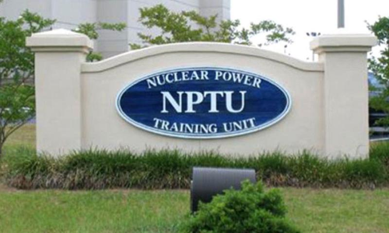 The nuclear training unit at Charleston, S.C. (U.S. Navy)