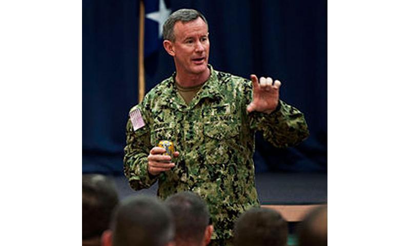 Navy Adm. William McRaven