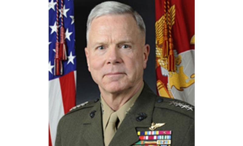 General James F. Amos, Commandant of the U.S. Marine Corps