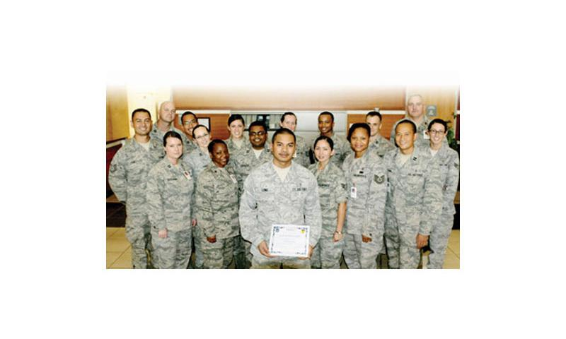 Hard Work Rewarded: U.S. Air Force photo by Airman 1st Class Mariah Haddenham/Released