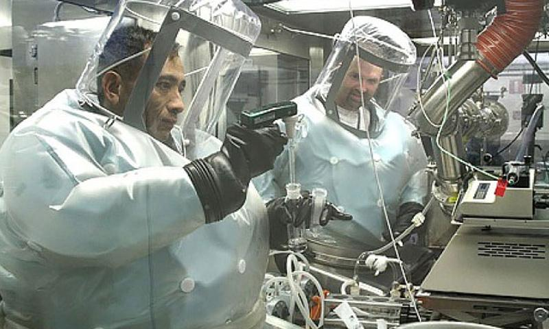 Personnel at Dugway Proving Ground, Utah, conduct laboratory work. Through its West Desert Test Center, the facility offers two primary services: testing and training. In May, the Pentagon reported that live anthrax samples had been sent out from Dugway. On Thursday, Sept. 10, 2015, the Centers for Disease Control and Prevention reported that military facilities have shipped out plague samples. (U.S. Army)