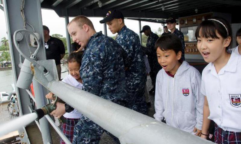 U.S. Navy photo by Mass Communication Specialist 3rd Class Allen Michael McNair